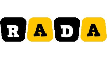 rada boots logo