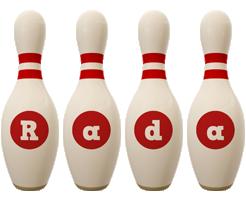 rada bowling-pin logo