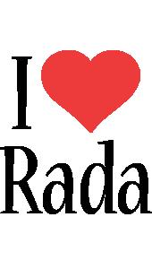 rada i-love logo