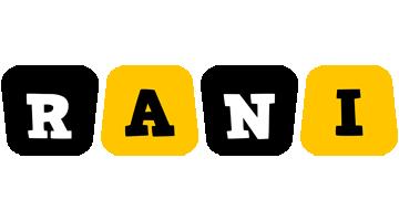 rani boots logo