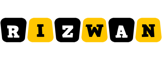 rizwan boots logo