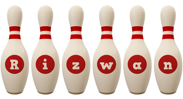 rizwan bowling-pin logo