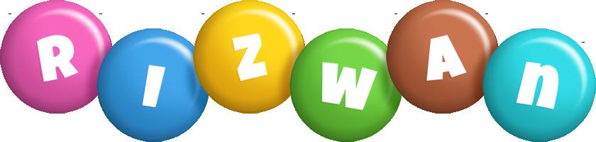rizwan candy logo