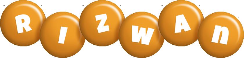 rizwan candy-orange logo