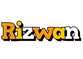 rizwan cartoon logo