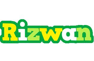 rizwan soccer logo