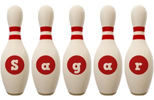 sagar bowling-pin logo