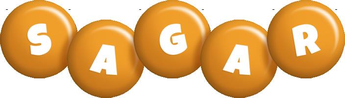 sagar candy-orange logo
