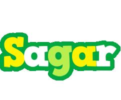 sagar soccer logo