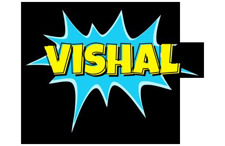 vishal amazing logo