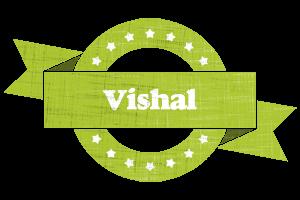 vishal change logo