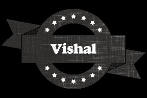 vishal grunge logo