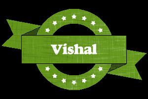 vishal natural logo